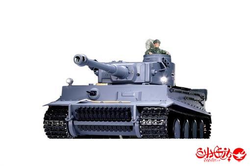 اسباب-بازی-تانک شلیک کن رادیو کنترلی ٣ کاناله ببر آلمانی