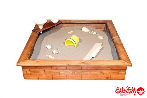 اسباب-بازی-استخر ماسه آجری ( چوب اشباع شده )