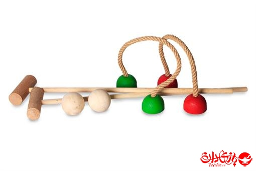 اسباب-بازی-چوگانک ایرانی چوبی