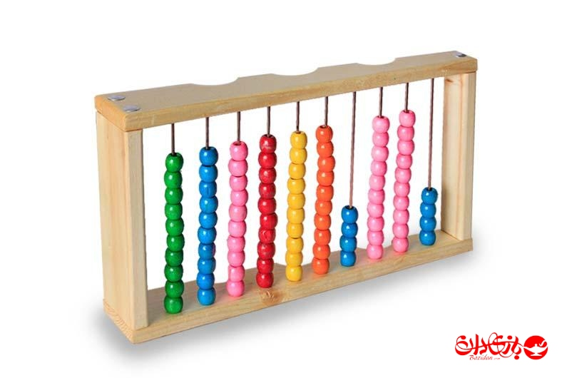 تصویر-شماره-1-چرتکه-چوبی-رنگی-آموزش-ریاضی-علی-کوچولو