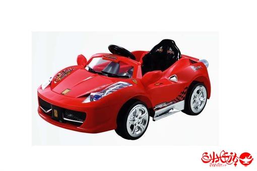 اسباب-بازی-ماشین شارژی دو موتوره فراری ٤٥٨
