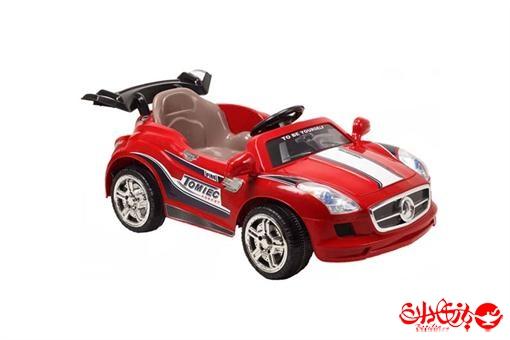 اسباب-بازی-ماشین شارژی بنز SLS779 دو موتوره  موزیکال