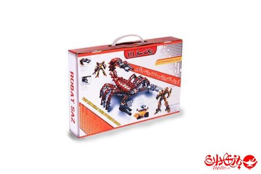 اسباب-بازی-ربات ساز جنگجو