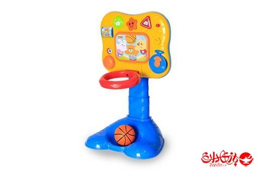 اسباب-بازی-بسکتبال موزیکال بچگانه با قابلیت تغییر سایز مارک winfun