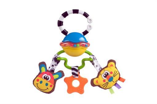 اسباب-بازی-جغجغه گیره دار موزیکال playgro