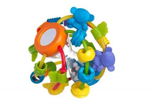 اسباب-بازی-جغجغه بازی و یادگیری با توپ playgro