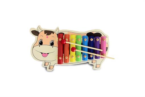 اسباب-بازی-بلز طرح گاو چوبی مارک ToyPlus