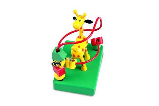 اسباب-بازی-زرافه و میله چوبی مارک ToyPlus