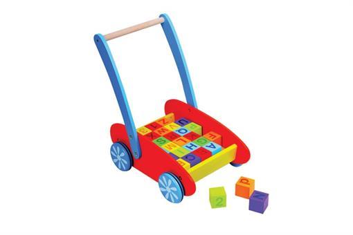 اسباب-بازی-واکر حروف لاتین قرمز چوبی مارک ToyPlus