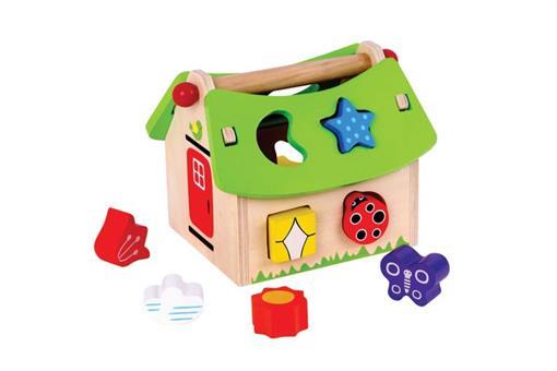 اسباب-بازی-پازل طرح کلبه چوبی مارک ToyPlus