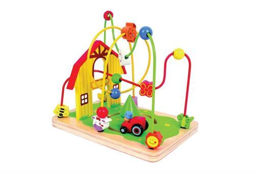 اسباب-بازی-بازی هوش و حلقه چوبی مارک ToyPlus