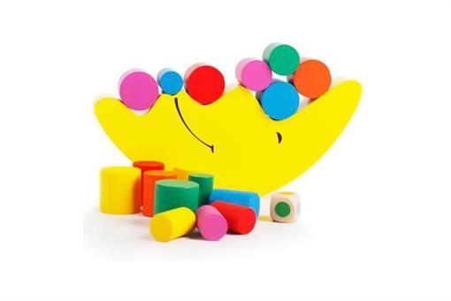 اسباب-بازی-تعادل ذهن و هوش ماه چوبی مارک ToyPlus