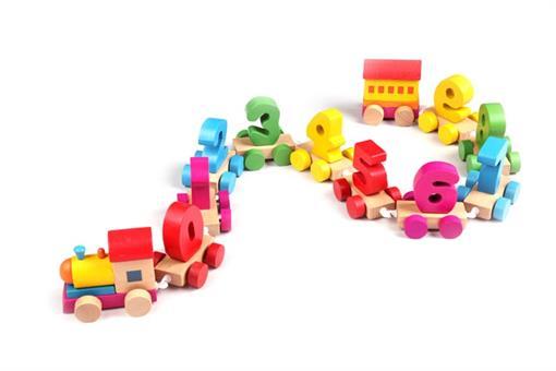 اسباب-بازی-قطار اعداد چوبی مارک ToyPlus