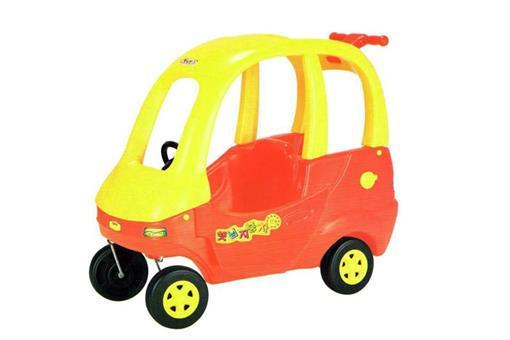 اسباب-بازی-ماشین پایی قرمز ساخت کره مارک Haenim toy