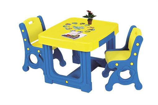 اسباب-بازی-میز تحریر 2 نفره ساخت کره مارک Haenim toy