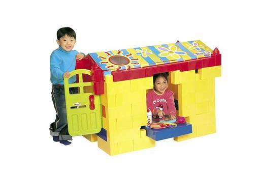 اسباب-بازی-کلبه کودک 92 تیکه ساخت کره مارک Haenim toy