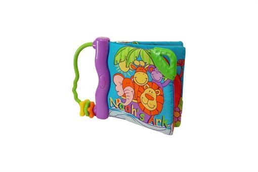 اسباب-بازی-کتابچه پارچه ای دندانگیر Noah`s Ark