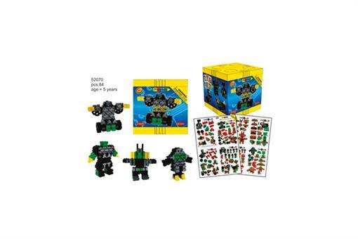 اسباب-بازی-ست ربات ٨٤ تایی سطح پیشرفته مارک Morphun
