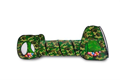اسباب-بازی-چادر فنری ارتشی تونلی