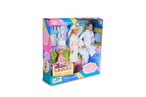 اسباب-بازی-عروسک دکتر و پرستار