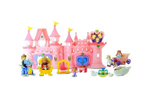اسباب-بازی-قصر با نور افشانی دخترانه
