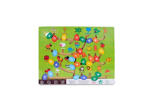 اسباب-بازی-اعداد و حروف انگلیسی چوبی