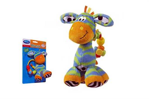 اسباب-بازی-عروسک  گورخر حلقه جغجغه ایPlaygro