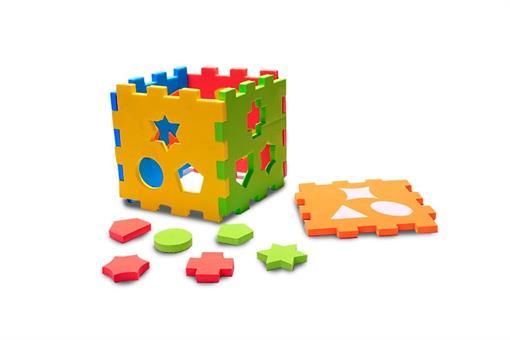 اسباب-بازی-مکعب اشکال ابری