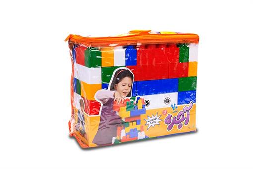 اسباب-بازی-آجره 70 قطعه کیفی