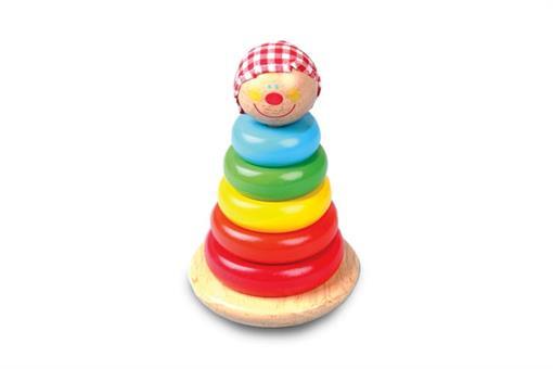 اسباب-بازی-گوی آدمک رنگی چوبی ToyPlus