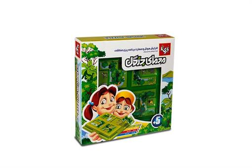 اسباب-بازی-بازی فکری معمای جنگل