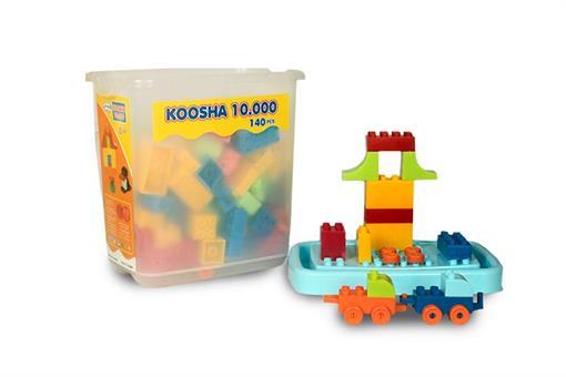 اسباب-بازی-لگو بلوک چیدنی 4 گوش 10000