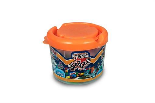 اسباب-بازی-خمیر سطلی ٥ رنگ توتو