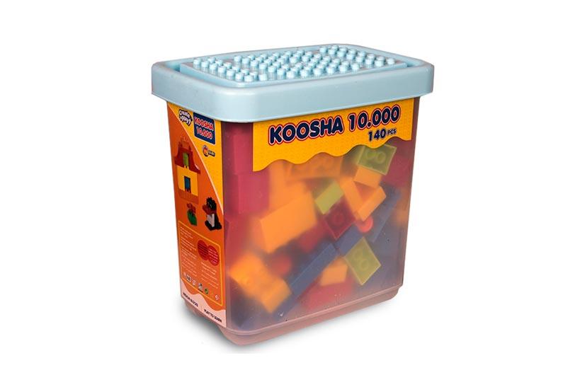 تصویر شماره 1  لگو بلوک چیدنی 4 گوش 10000