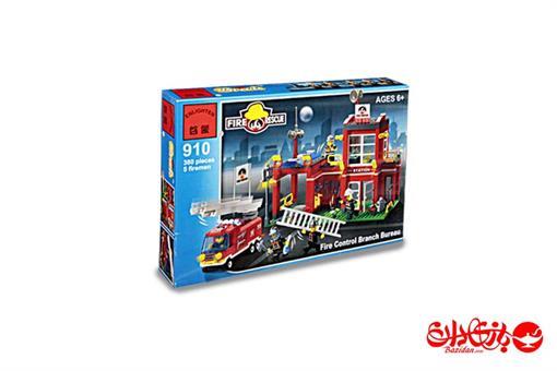اسباب-بازی-لگو ایستگاه آتش نشانی 466 تکه