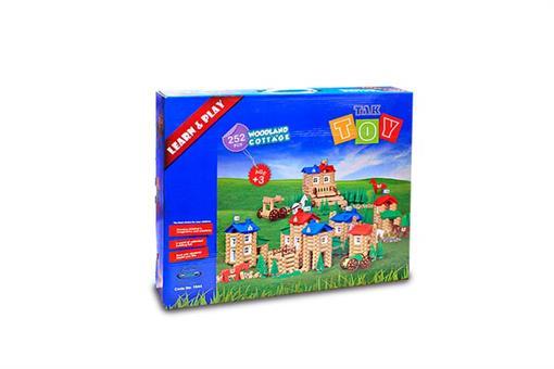 اسباب-بازی-خانه جنگلی 252 قطعه