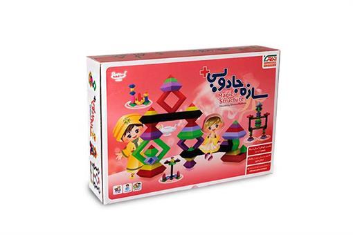 اسباب-بازی-سازه جادویی 63 قطعه