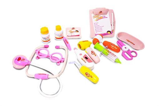 اسباب-بازی-ست دکتری با عینک جعبه ای