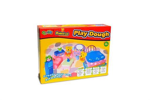 اسباب-بازی-خمیر بازی ست اتاق خواب حیوانات
