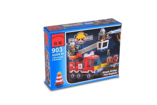 اسباب-بازی-لگو 130 تکه گروه آتش نشانی