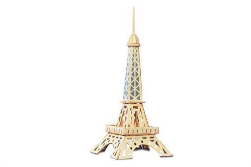 اسباب-بازی-جورچین و ماکت چوبی برج ایفل دو لایه کوچک
