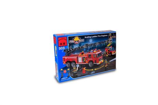 اسباب-بازی-لگو 605 تکه گروه آتش نشانی