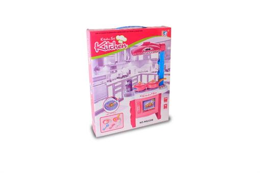 اسباب-بازی-میز آشپزخانه با گاز فردار موزیکال و چراغدار