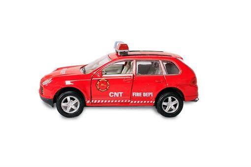 اسباب-بازی-ماشین فلزی آتش نشانی سوپر
