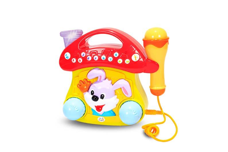 تصویر-شماره-1-تلفن-خرگوشی-میکروفون-دار-مارک-هالی-تویز