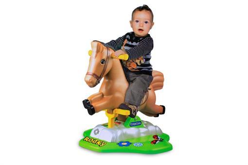 اسباب-بازی-اسب موزیکال متحرک سوار شدنی