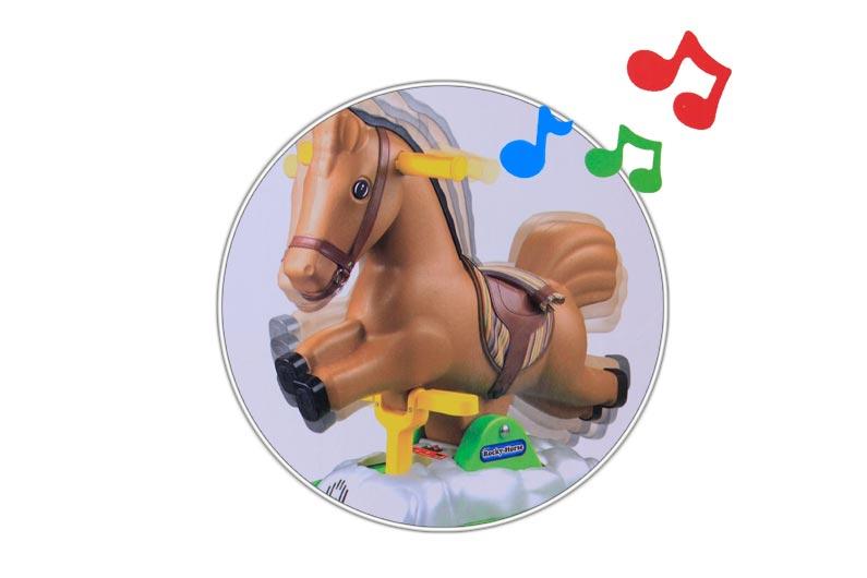 تصویر شماره 2  اسب موزیکال متحرک سوار شدنی