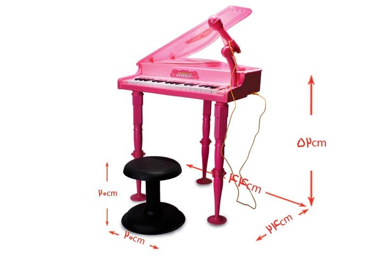 تصویر شماره 2  پیانو بزرگ با میکروفون