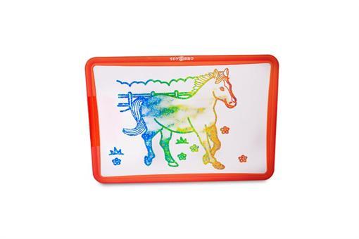 اسباب-بازی-تخته بازی جادویی با قلم پرشونده با آب به همراه رنگ آمیزی