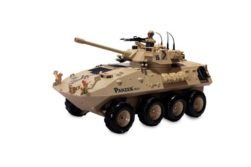 اسباب-بازی-تانک کنترلی شارژی تیر پرتاب کن و آب پاش